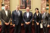 Delta Dunării pe agenda discuțiilor cu preşedintele Comisiei de Mediu din cadrul Parlamentului luxemburghez, François Benoy