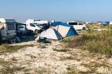 Amenzi pentru campare și staționarea autoturismelor pe plaja sălbatică de la Vadu, arie protejată ARBDD