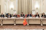 Întrevederea delegației Comisiei de politică externă din cadrul Adunării Naționale a R.S. Vietnam cu Grupul de prietenie din Parlamentul României
