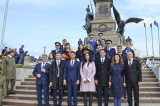 Făclia Spiritului Dobrogean, aprinsă la Monumentul Independenței, de Ziua Dobrogei, solemnitatea istoriei retrăite