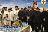 Boboteaza 2020 la Tulcea a fost marcată de Sfințirea marelui fluviu și de un tânăr de 16 ani care a adus crucea conform tradiției