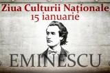 15 Ianuarie 2020: Ziua Culturii Naţionale sub semnul lui Eminescu, model de simțire și de trăire românească