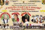 TULCEA: Ziua Unirii cu cântec, joc, voie bună, fasole tradițională cu cârnați, vin fiert și-o Horă mare cât inima lumii
