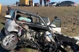 Accident rutier în lanț la ieșire din Medgidia. Trei victime, dintre care una încarcerată