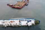 NEWS ALERT: Oile aflate în stare de putrefacție din Portul Midia vor fi incinerate la Smârdan, Tulcea, la 130 de km distanță(!)