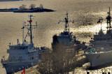 Escala puitorului de mine și plase 274, în portul turcesc Eregli. Continuă misiunile de supraveghere în bazinul sud-vestic al Mării Negre