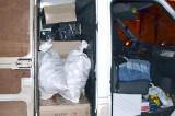 Mangalia: Peste 8.000 de pachete cu țigări de contrabandă au confiscat polițiștii de frontieră.