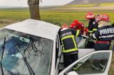 Accident rutier cu trei autovehicule implicate si 5 victime