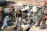 350 Kg de pește confiscat și peste 2000 de metri de plase. Garda de Mediu a AEBDD desfășoară ample acțiuni de control pentru combaterea braconajului piscicol