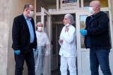 Testare la Tulcea: Președintele Consiliului Județean Tulcea, Horia Teodorescu și Prefectul judeţului, Alexandru Cristian Iordan au verificat stadiul lucrărilor de amenajare a Laboratorului