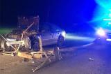 Accident cu victime între un autoturism și un atelaj în apropierea gării Zebil