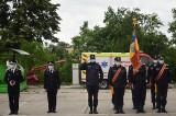 """Sărbătoare la ISU """"DELTA"""" Tulcea: Jurământul de credință al unui tânăr pompier și diplome de onoare acordate de MAI, altor doi pompieri"""