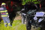 Accident în toiul nopții la Horia cu două victime