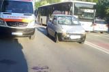 Tulcea: Un bărbat și o femeie au fost accidentați pe trecerea de pietoni de către o șoferiță de 25 de ani