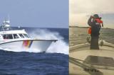 Un bărbat înghițit de valurile Mării Negre, cu tot cu barcă, este căutat de peste cinci ore cu ambarcațiuni speciale și cu elicopterul SMURD