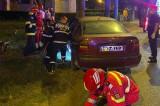 Un bărbat de 46 de ani aflat în trafic în drum spre Năvodari s-a izbit de un copac