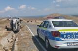 Accident cu două victime pe drumul spre cetatea Enisala