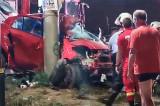 Un accident șocant a luat viața unui tânăr de 22 de ani, pasager într-o mașină care-a intrat cu viteză într-un stâlp. Șoferița a vrut să nu calce un cățel