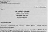 Moțiunea de cenzură împotriva Guvernului Orban este și pentru ca profesorii să-și primească salariile mărite de la 1 Septembrie, conform legii votate de noi. Trebuie să reinstaurăm domnia legii (!)