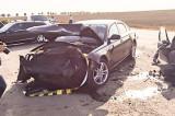 Accident cu patru răniți în apropierea Aeroportului Mihail Kogălniceanu