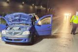 Un bărbat din Murighiol a murit pe drumul Tulcea- Agighol după ce un autoturism l-a izbit cu viteză