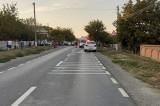 Accident cu trei victime-decesul unui pieton din Macin, rănirea conducătorului unui motociclu si a unei tinerei de 19 ani