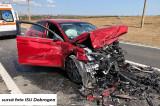 Două persoane au murit și două au suferit răni grave după ce două autoturisme au intrat în coliziune pe drumul Tulcea – Constanța