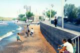 Mahmudia-și modernizează întreaga zonă de faleză și de port cu un proiect generos al cărui contract de finanțare a fost semnat de primarul Ion Șerpescu