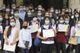 """""""Tulcea-Suzhou, drumul prieteniei"""": 45 de elevi și opt profesori coordonatori au câștigat concursul și au fost premiați de președintele CJ Tulcea"""