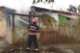Incendiu la o casă din Lunca