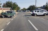Trafic blocat pe DN 22 Galaţi – Tulcea, în zona localităţii Văcăreni: trei autoturisme implicate și o victimă
