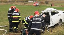 Un bărbat de 37 de ani a murit, altul este în stare gravă în urma unui accident teribil în apropiere de Carcaliu