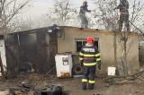 Incendiu în Ajun de Crăciun la o gospodărie din Cerna