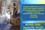 Mesaj de Bobotează: Michael Gudu – Deputat PNL Tulcea