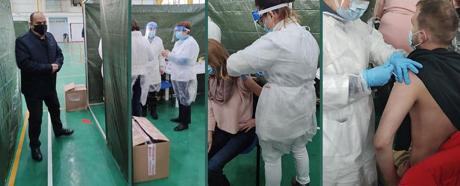 Judeţului Tulcea i-au fost repartizate doar două fluxuri de vaccinare (120/doze/zi). 2520 de tulceni s-au înscris deja pe platformă. Nicio poziție liberă timp de 21 de zile