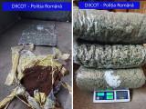Flagrant(!) Au adus din Marea Britanie 6,5 kg de cannabis și cocaină