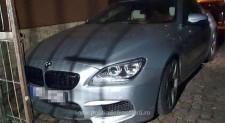 BMW furat din Germania, descoperit în Constanța de polițiștii de frontieră