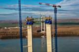 """Cătălin Drulă, Ministrul Transporturilor: """"Spun de pe acum, podul frumos și nou peste Dunăre de la Brăila va rămâne muzeu timp de un an"""""""
