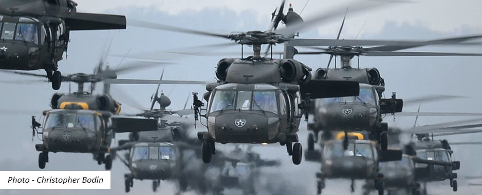 """Atlantic Resolve""21: 30 de elicoptere Black Hawk vor desfășura exerciții ample deasupra Dobrogei"