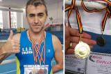5 medalii pentru jandarmul tulcean Sorin Andrici la Campionatul Naţional de Atletism Masters