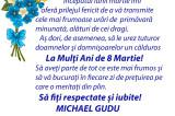Mesaj de 8 Martie 2021: Michael Gudu – Deputat PNL Tulcea