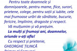 Mesaj de 8 Martie 2021: Gheorghe Ţilincă – Primar al Comunei Casimcea
