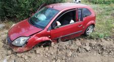 Trei autoturisme implicate într-un accident rutier pe DN22D, între Cerna și Măcin