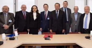Groupe d' amitie France Roumanie M. Lucas député 09 mars 2016