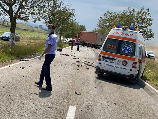 Accident Cataloi - Tulcea